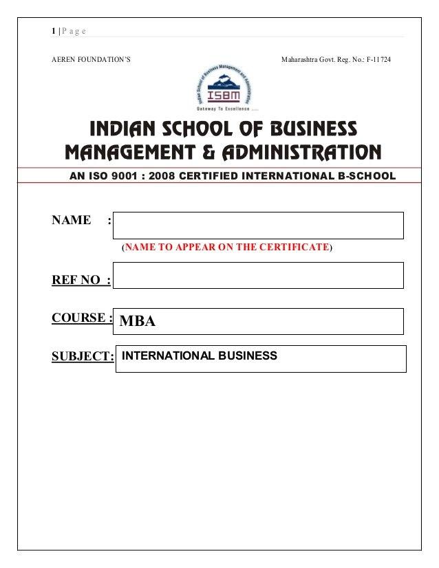 1 | P a g e AEREN FOUNDATION'S Maharashtra Govt. Reg. No.: F-11724 NAME : (NAME TO APPEAR ON THE CERTIFICATE) REF NO : COU...