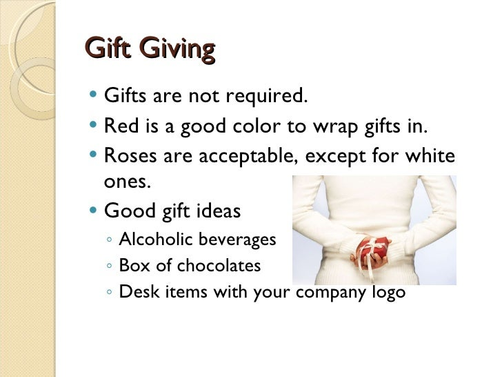 8 GiftGiving Etiquette Questions International Business