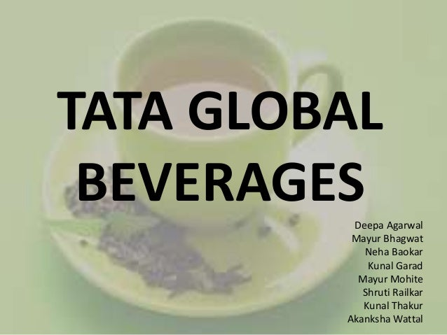 International business of TATA global beverages