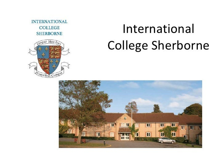 InternationalCollege Sherborne