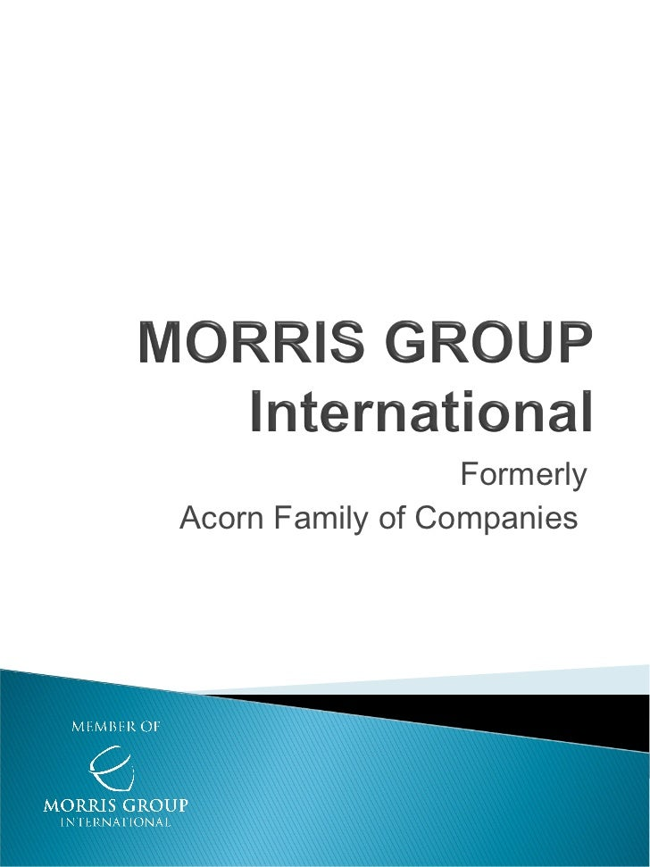 FormerlyAcorn Family of Companies