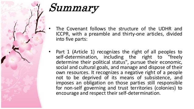 the international covenant on economic social Economic, social, and cultural rights  international covenant on  the term available resources applies both to domestic resources and to any international.