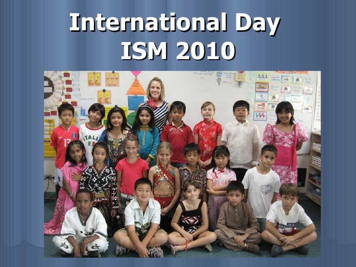 International Day  ISM 2010