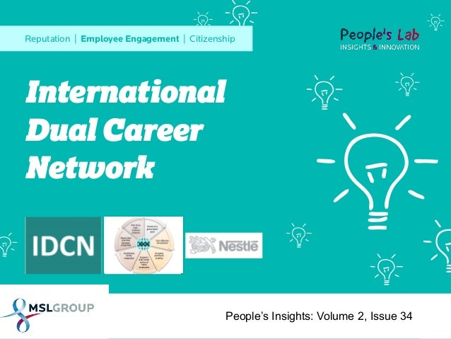 International Dual Career Network: People's Insights Volume 2, Issue 34