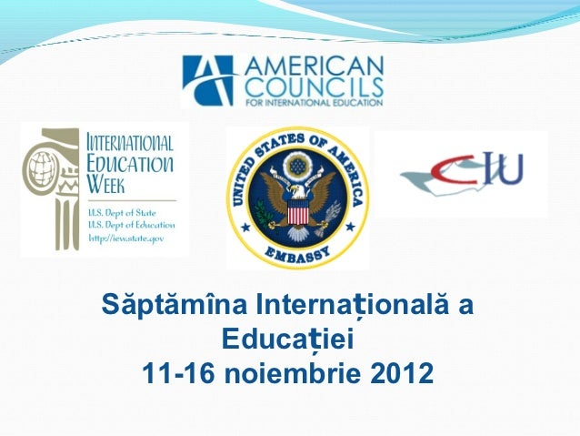 International Education Week Seminar