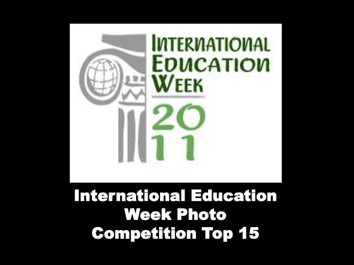 International Education      Week Photo  Competition Top 15