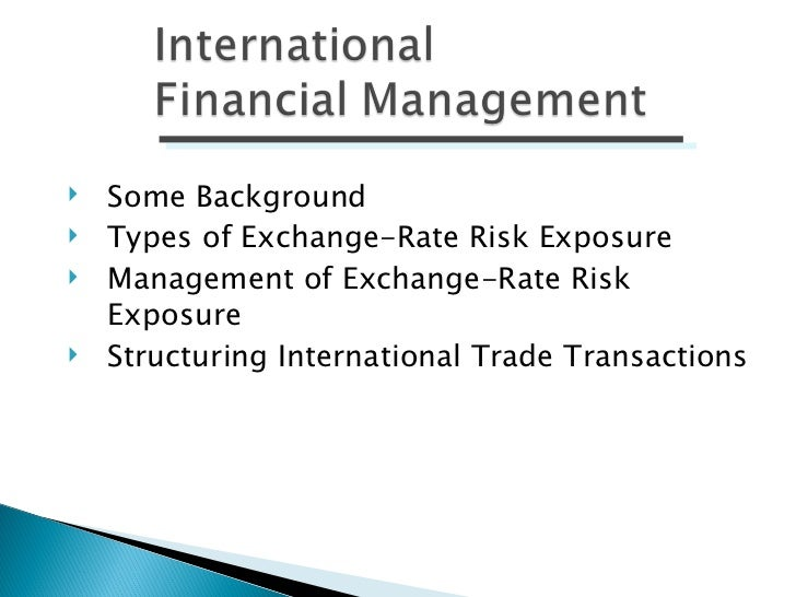 managing economic and transaction exposure simulation View notes - ifm_im_ch12 from mba fi565 at keller graduate school of management chapter 12 managing economic exposure and translation exposure lecture outline economic exposure use of projected cash.