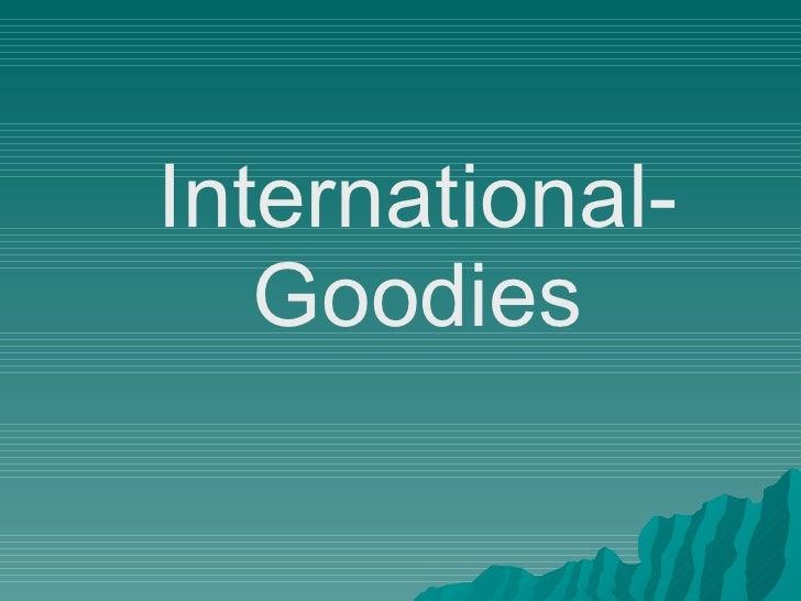 Internationalgoodie