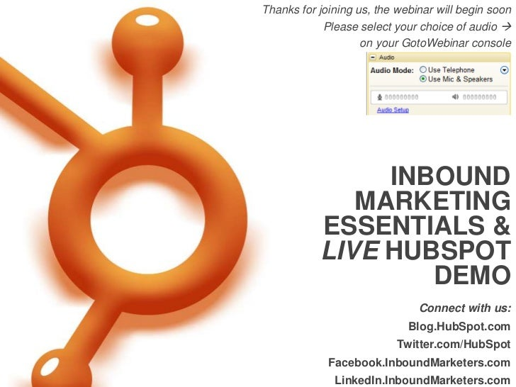 HubSpot International Group Webinar