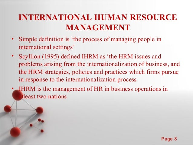 international issues affecting human resources in a global setting •discover the global trends affecting human resources management,  •being attuned to employees and the critical issues  emerging trends in human resources .