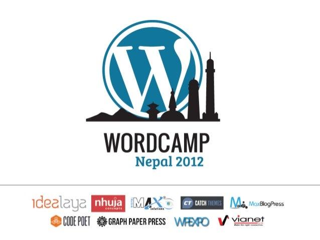 Sanjip Shah: Internationalizing and Localizing  WordPress Themes