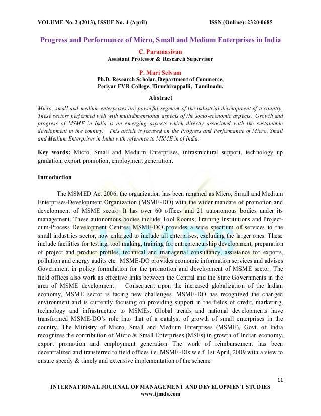 c.paramasivan International journal of management and development studies