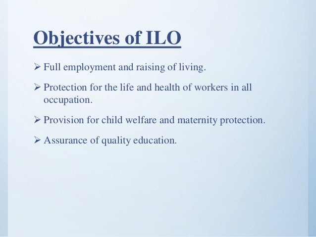 the international labour organization ilo International labour organization (ilo)  ilo at prepcom3 26 july 2016   policies and international coalition in support of sustainable development goals .