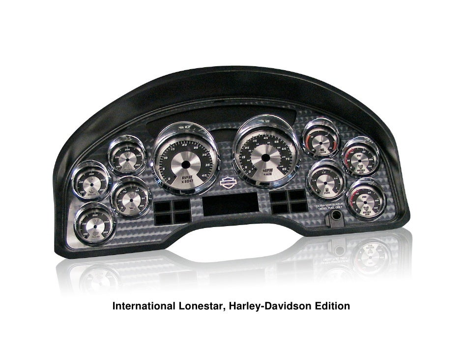 International Lonestar, Harley-Davidson Edition