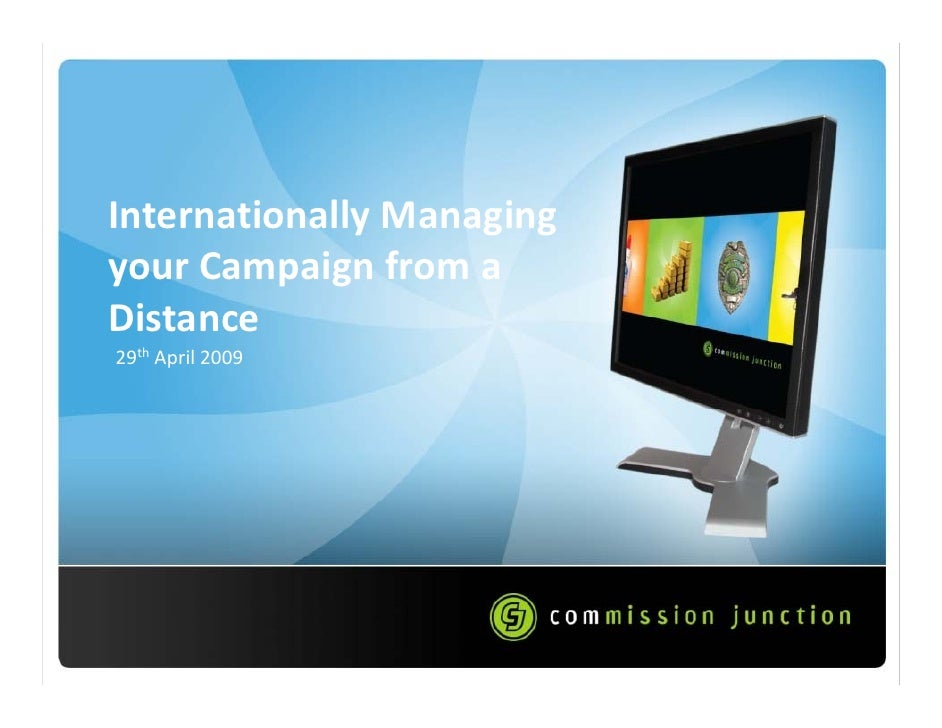 Internationally Managing Your Campaign From A Distance