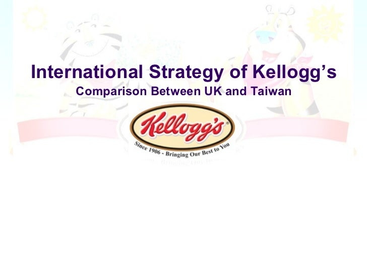 International marketing   kellogs case