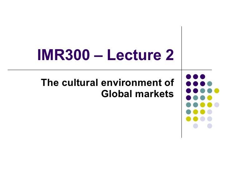 International marketing (2)