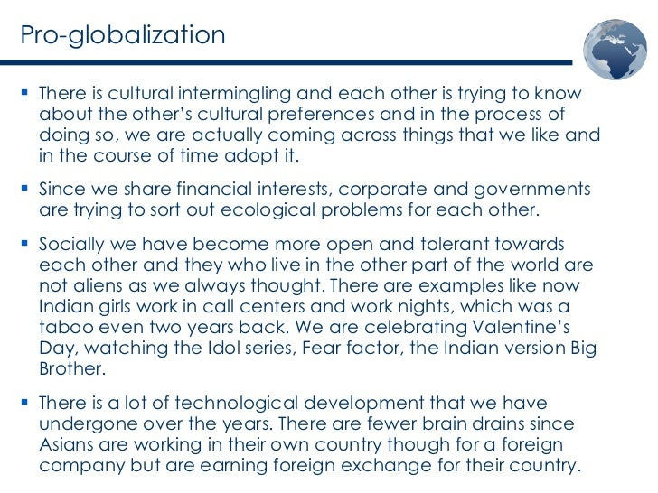 the cons of globalization an essay against globalization panda online Globalization, reflecting unsatisfactory processes and outcomes in multiple areas in the social area, disenchantment is the result of the uneven way the benefits of journal of globalization and development, vol 1 [2010], iss 1.