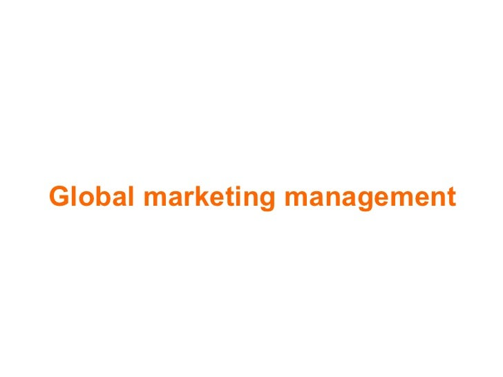 International marketing (6)