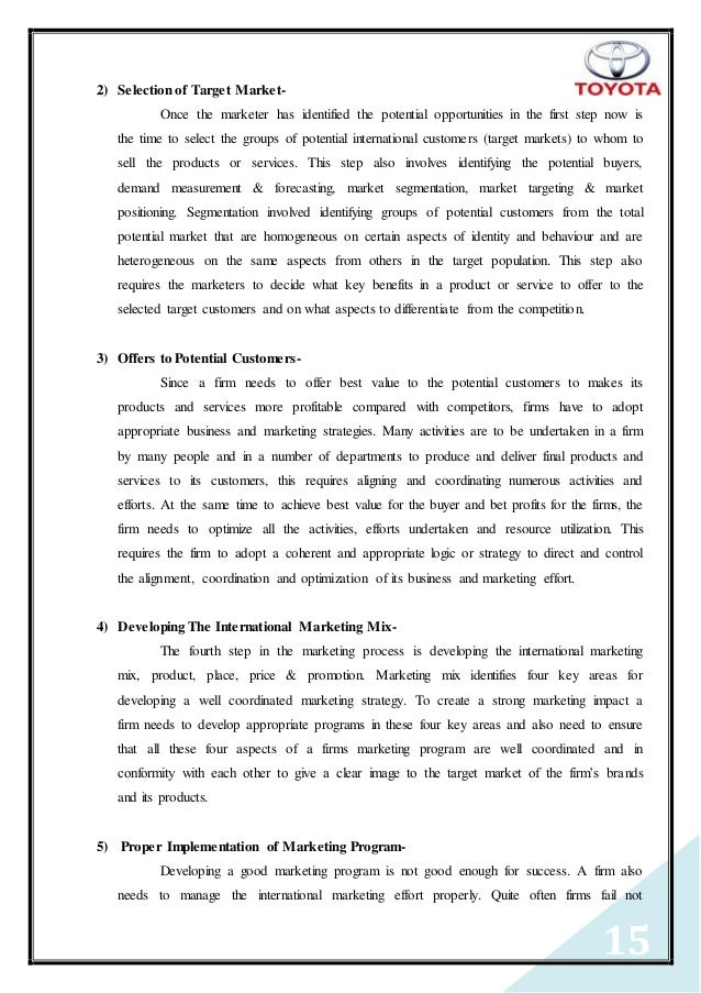 toyota brand essay example See an example of a college application essay, with a point-by-point critique.