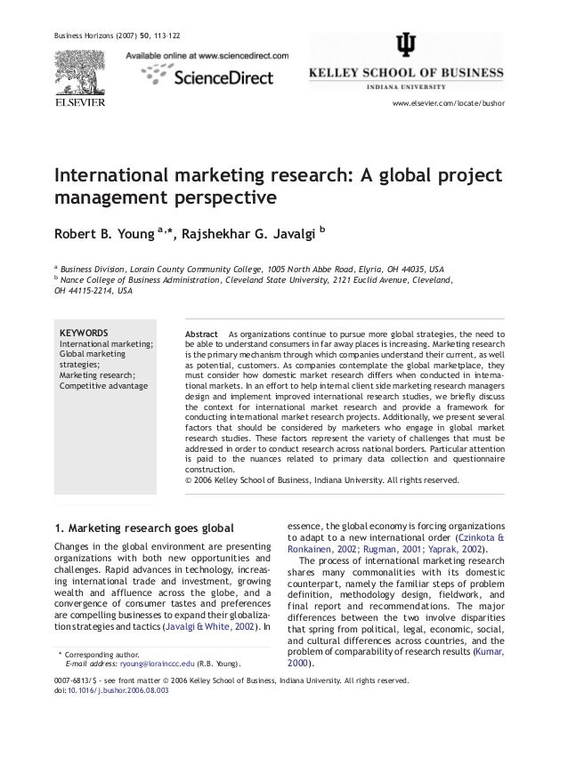 international journal of marketing studies The journal of international management is devoted to advancing an understanding of issues in the management of global enterprises, global management.