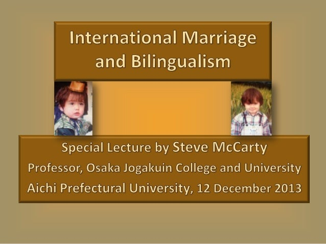 International Marriage and Bilingualism - with Fun Quiz answers