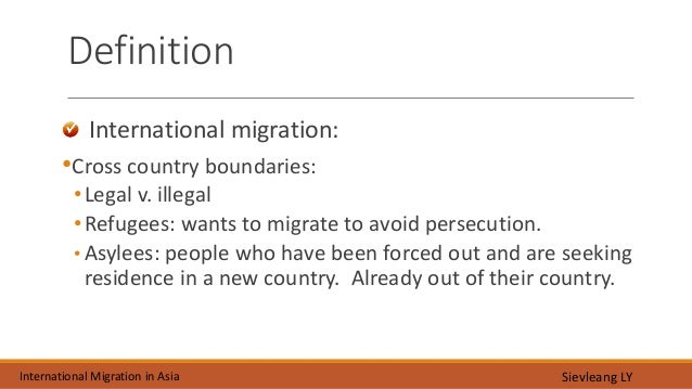 case studies international migration essay We will write a custom essay sample on mexico to usa migration case study if anyone is using mexico to usa as a case study of international migration.