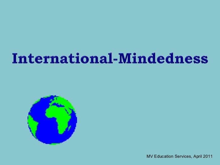 International Mindeness