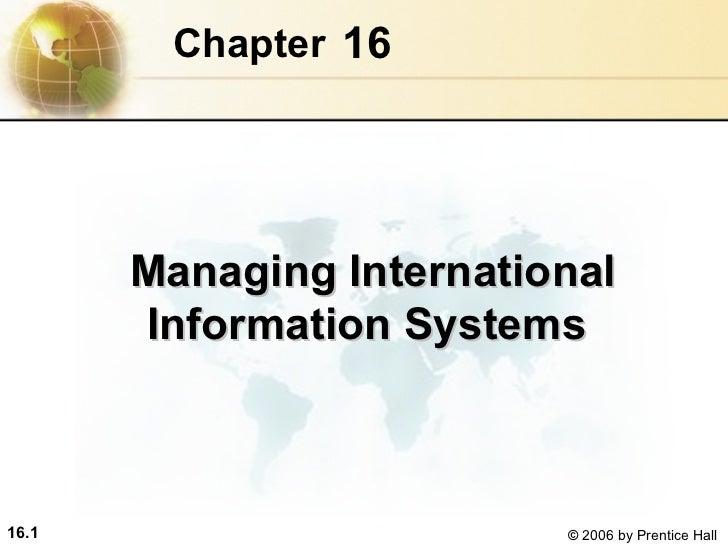 International mis