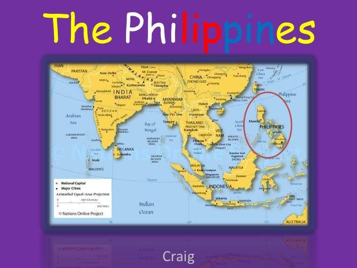 International week project Philippines Craig