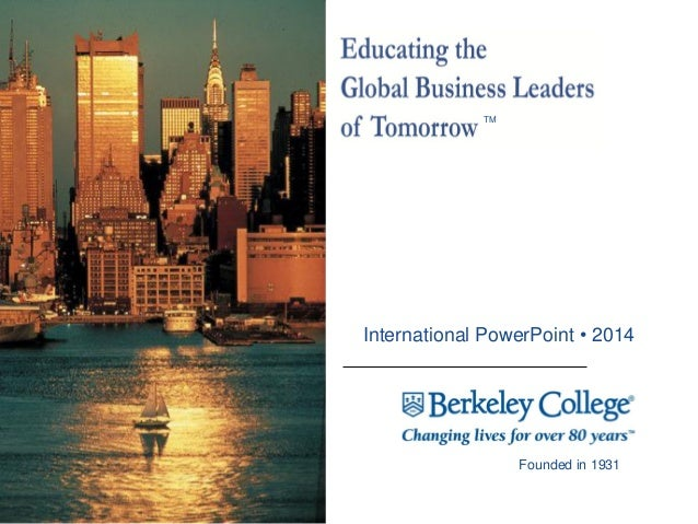 Berkeley College International Admissions