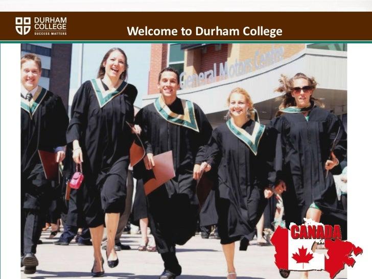 Durham College ppt   india-final