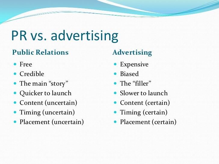Public Relations vs. Journalism