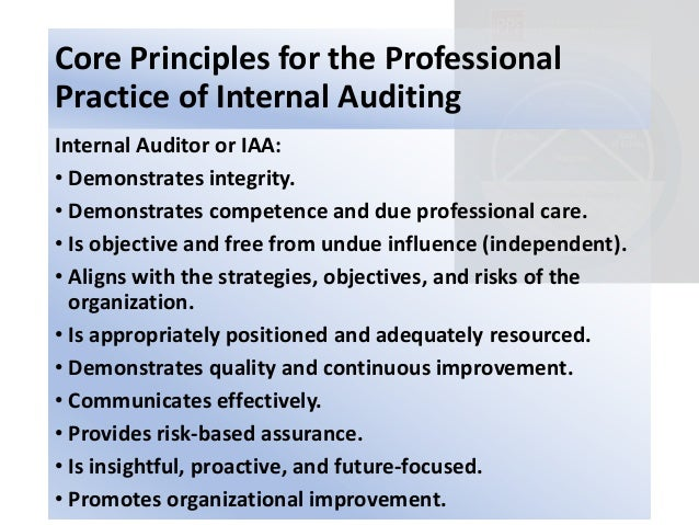 internal audit practice framework This wipo internal audit manual is established in accordance with  standards for the professional practice of internal  framework which internal - audit.