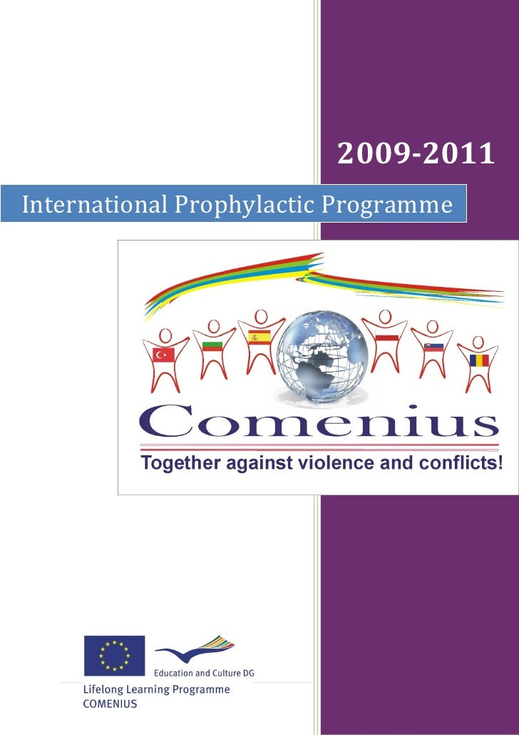2009-2011International Prophylactic Programme                                 1|P age