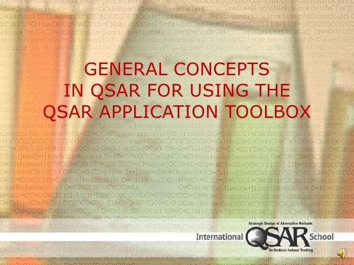 General Concepts in QSAR for Using the QSAR Application Toolbox Part 2