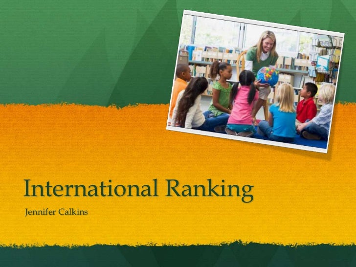 International Ranking<br /> Jennifer Calkins<br />