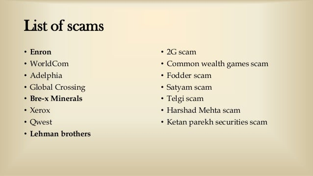 reasons behind satyam scam What is the reason behind rampant corruption in india & what should be done to stop it satyam software services scam 17) tansi land scam 18.
