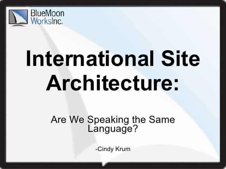 International SEO: Are We Speaking The Same Language?