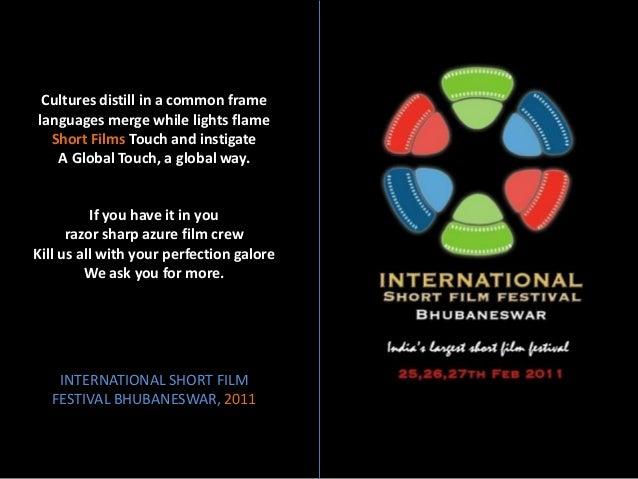 International short film festival bhubaneswar