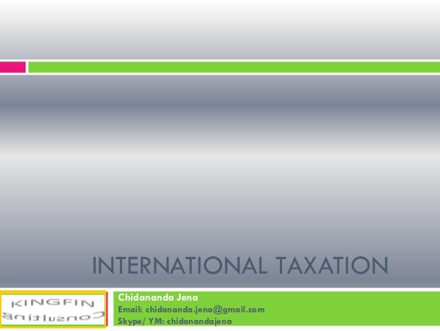 International taxation un oced model _ Jena
