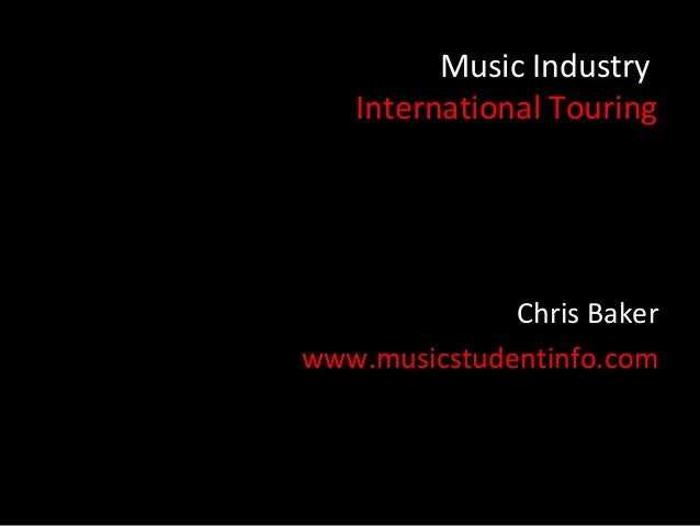 International Touring for Musicians
