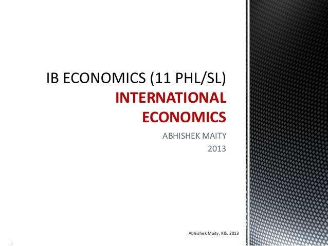 IBDP International Trade