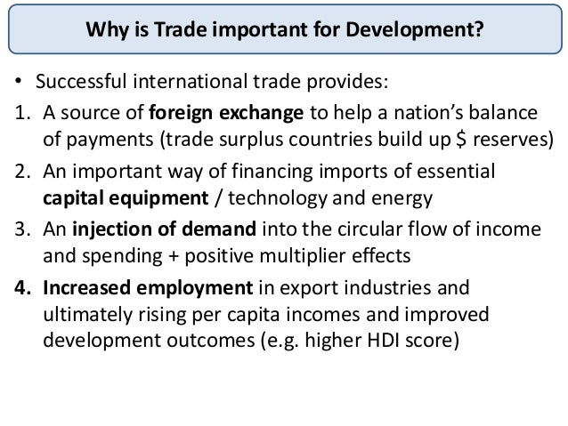 why is international trade important for 4 reasons why incoterms understanding is vital for a incoterms are standardized terms used in international trade to clearly define the seller's and buyer's.