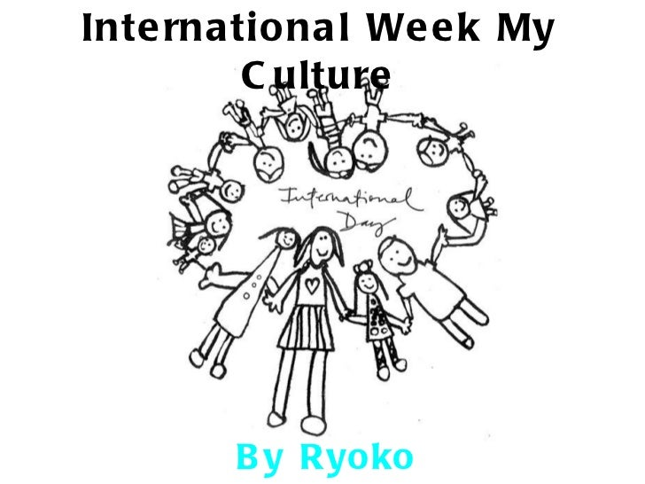 International week my culture Ryoko