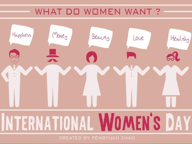 What do women want? - International women's day