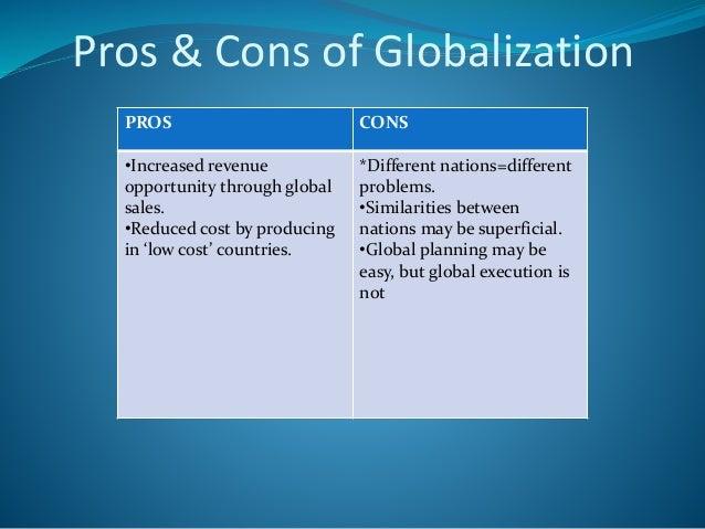 s code cf globalisation pro cons essay globalisation pro cons essay
