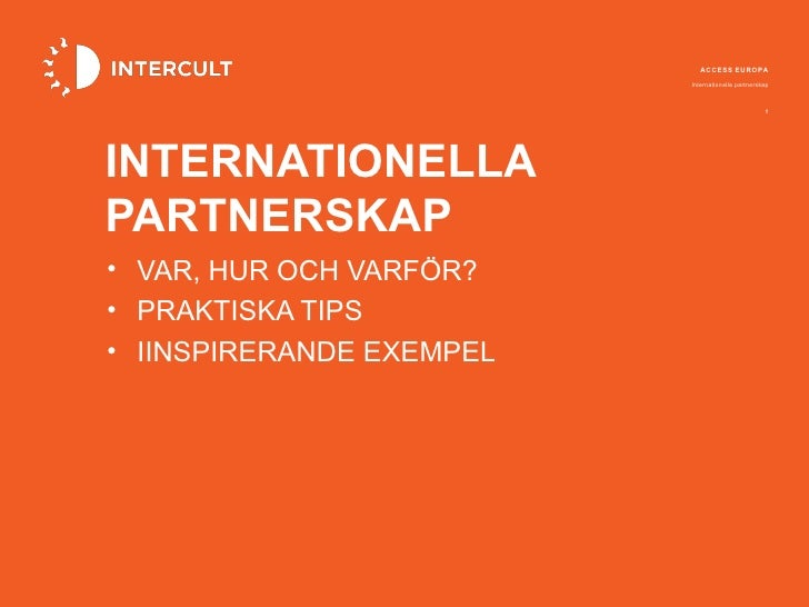 Internationella partnerskap 20120531