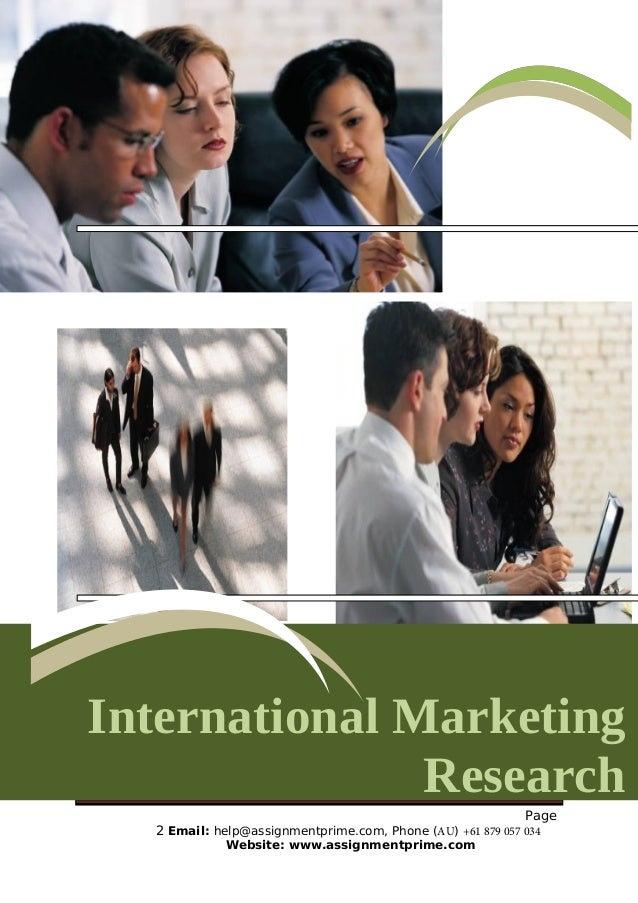Short Cases for International Marketing - Merlot