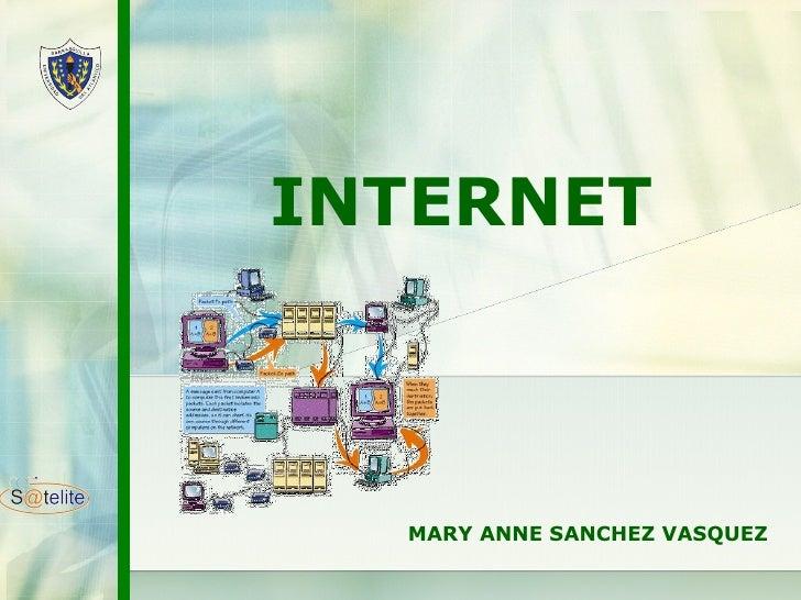 INTERNET MARY ANNE SANCHEZ VASQUEZ
